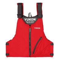 Yukon Base Adult Paddle Life Vest - Red - Oversized