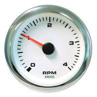 "Sierra White Premier 3"" Tachometer, Diesel Alternator"