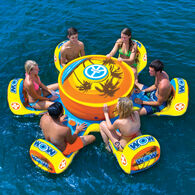 WOW Octo Island 6-Person Floating Table