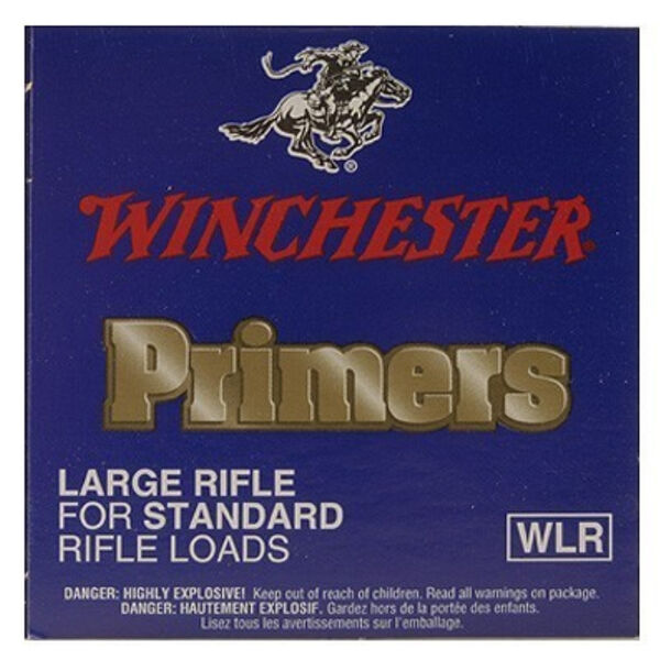 Winchester Large Rifle Primers, 100-Count