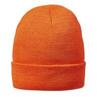 HOT SHOT Men's Two-Ply Cuff Blaze Orange Cap