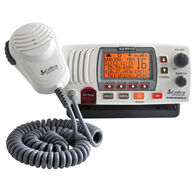 Cobra Marine MR F77 GPS Class-D Fixed-Mount VHF Radio with GPS Receiver, white
