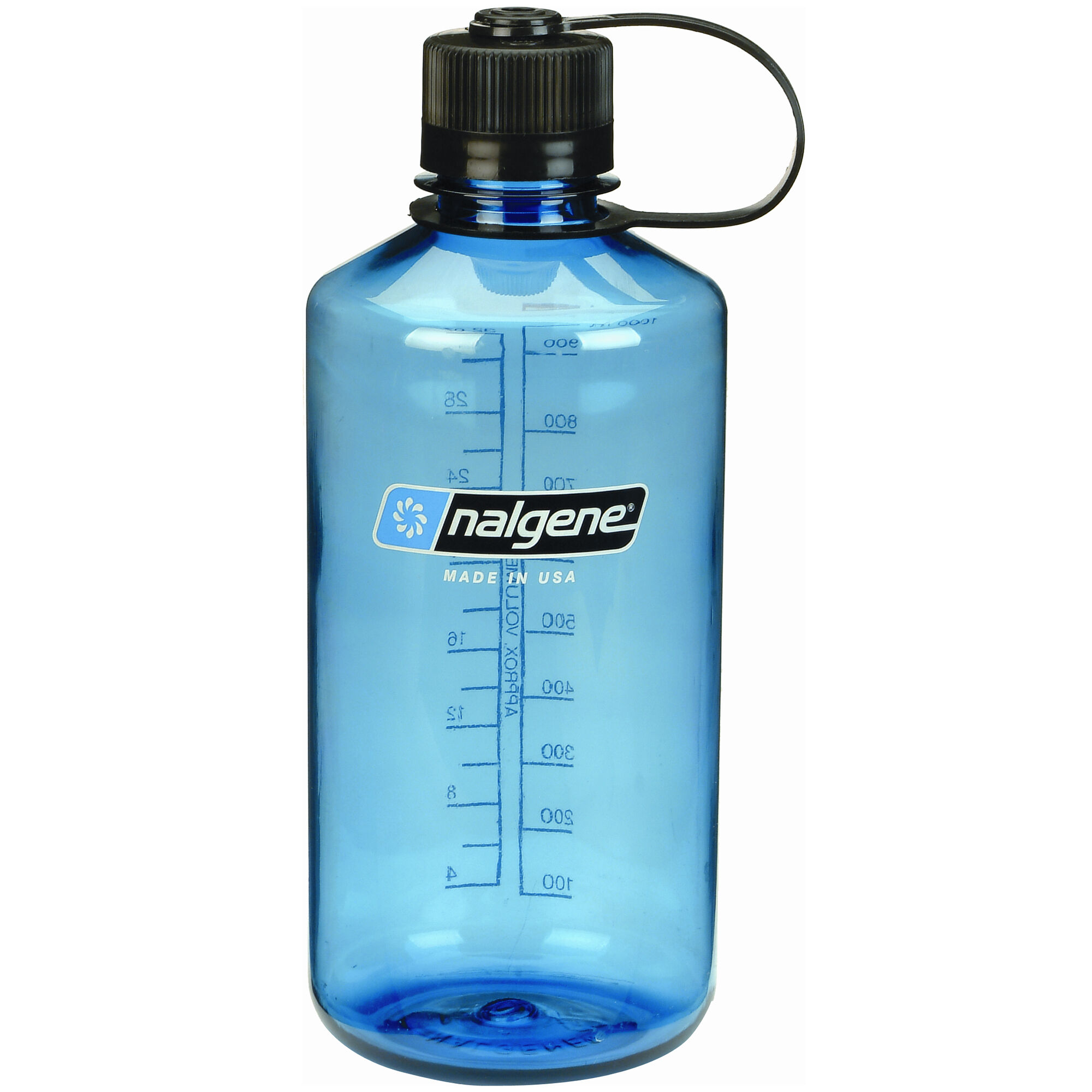 Nalgene Narrow Mouth Water Bottle 32oz Slate Blue