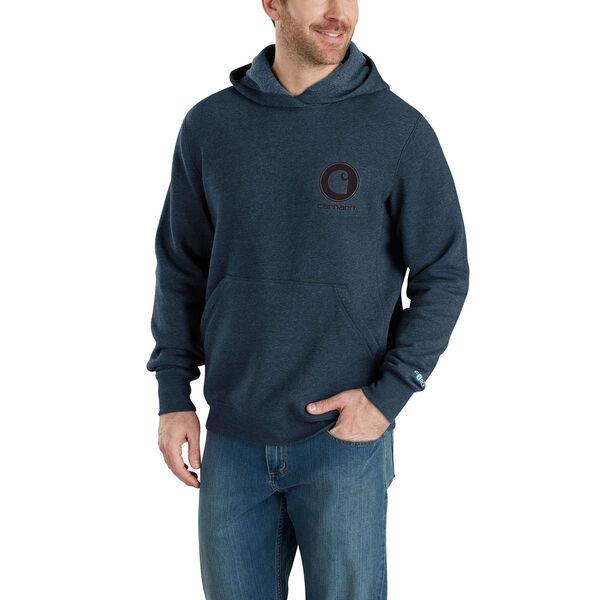 Carhartt Men's Force Delmont Graphic Hooded Sweatshirt