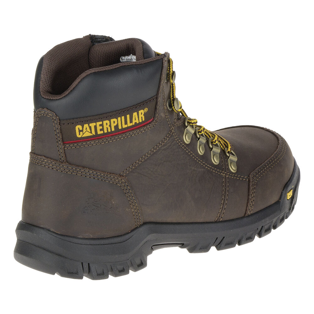 51c24149e8d9 CAT Men's Outline Steel Toe Work Boot | Gander Outdoors