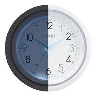 "La Crosse 10"" Wall Clock with Night Vision"