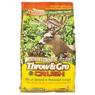 Evolved Harvest Throw & Gro Crush Spring & Summer Food Plot Seed, 3.5 lbs.