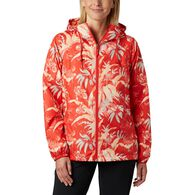 Columbia Women's Side Hill Printed Windbreaker Jacket