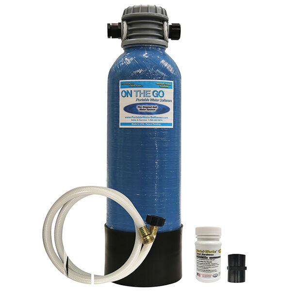 On The Go Portable Standard Water Softener & Conditioner