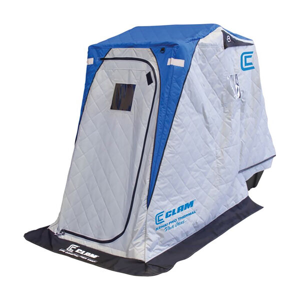 Clam Outdoors Kenai Pro One-Person Thermal Ice Shelter