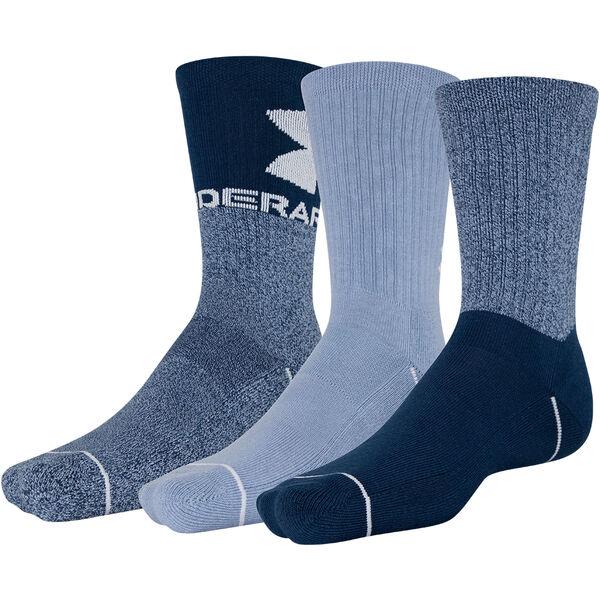 Under Armour Men's Phenom Crew Socks, 3-Pack