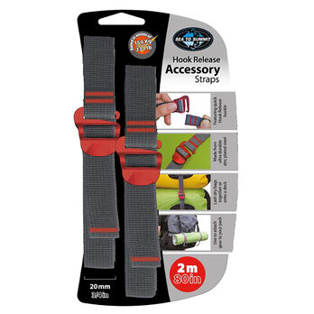 """Sea To Summit Accessory Straps with Hook Release, 80"""""""