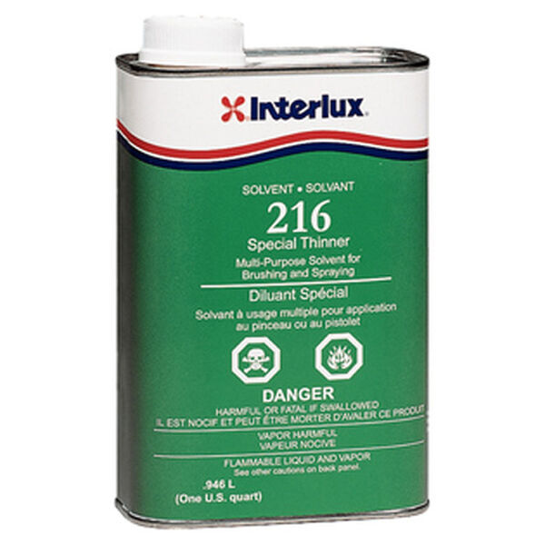 Interlux 216 Special Thinner, Quart