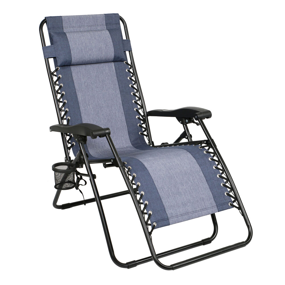 Awesome Zero Gravity Recliner Denim Pabps2019 Chair Design Images Pabps2019Com