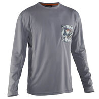 Grundens Men's Fish Head Long-Sleeve Performance Tee