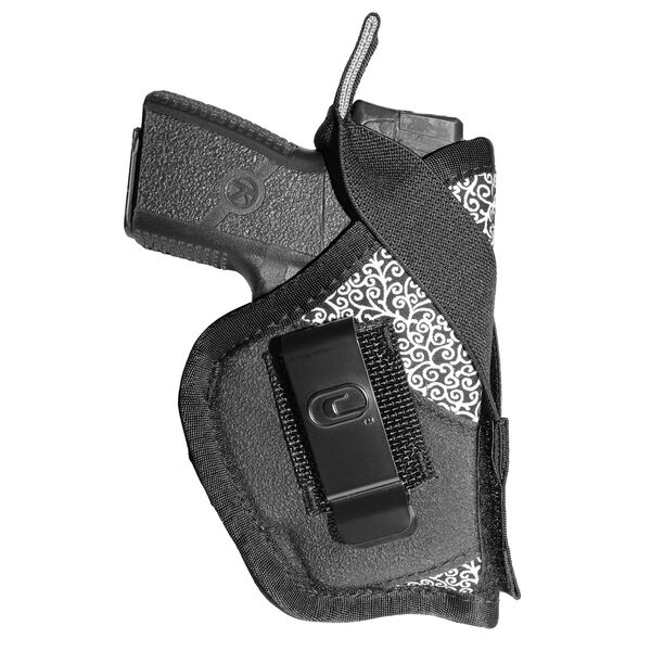 Crossfire Luxe Low-Profile Conceal-Carry Female Gun Holster Blush