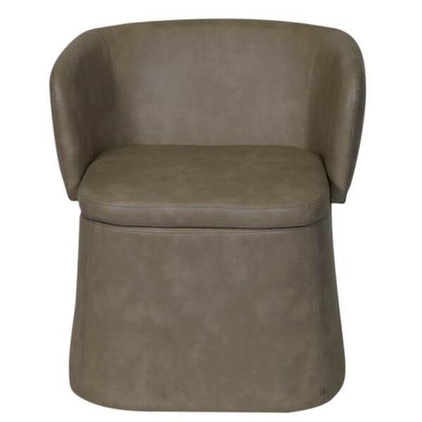 Allure Furniture Chottoman Convertible Chair and Ottoman, Skogman Linen