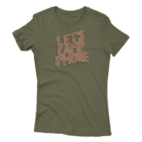 Points North Women's Let's Camp Smore Short-Sleeve Tee