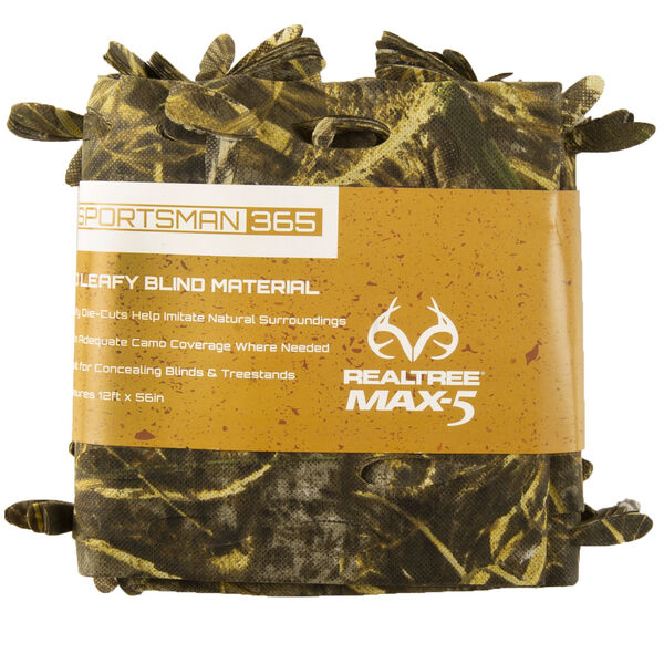 Sportsman 365 3-D Leafy Blind Material, Realtree Max-5 Camo