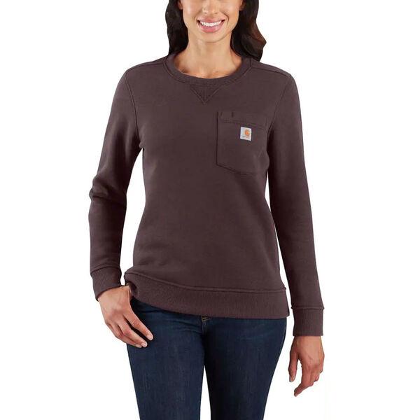 Carhartt Women's Clarksburg Long-Sleeve Crew Sweatshirt