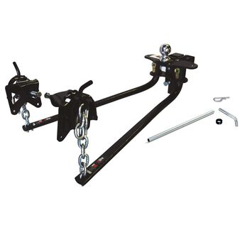 Round Bar Weight Distributing Hitch - 800 lb Tongue Weight