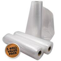 "Weston 8""W x 22'L Vacuum Sealer Bag Rolls, 3-Pack"