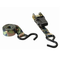 HME Camouflage Ratchet Tie-Down Straps, 2-Pack