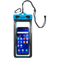 "Dry Pak Floating Waterproof Cell Phone Case, 4"" x 8"", Electric Blue"
