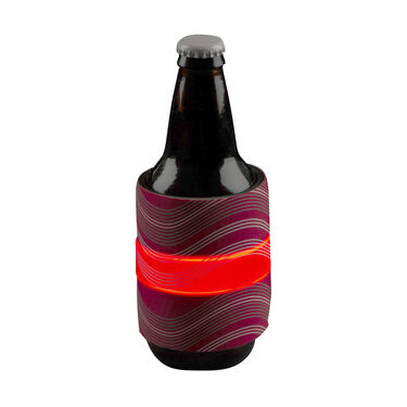 Nite Ize SlapLit LED Drink Wrap, Red