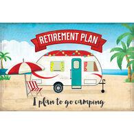 Reversible Placemats, Retirement Plan