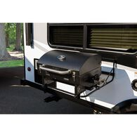 Portable RV Barbeque Grill, Black