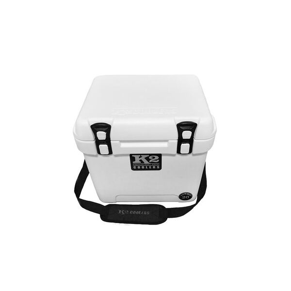 K2 Summit 20 Quart Cooler, Glacier White
