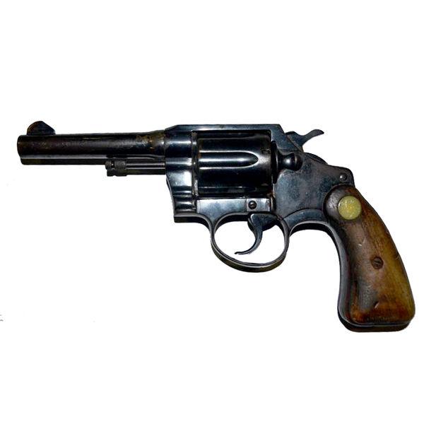 Used Colt Police Positive Revolver, .38 Special