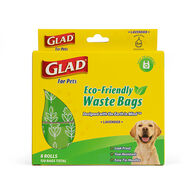 Glad for Pets Eco-Friendly Waste Bags, Lavender, 120 Bags