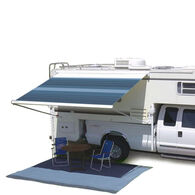 """Carefree Campout Bagstyle Awning, Ocean Blue, 11' 6"""""""