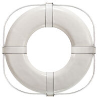 "Life Ring USCG Approved, White (24"")"