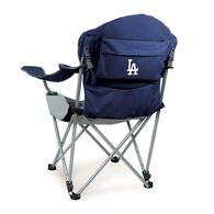 LA Dodgers Reclining Camp Chair, Navy