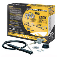 SeaStar Solutions No Feedback Single Cable Rack-And-Pinion Steering System,SS151