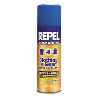 Repel Permethrin Clothing and Gear Insect-Repellent 6.5-Oz. Aerosol Spray-Can