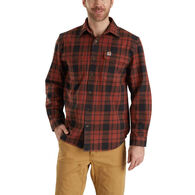 Carhartt Men's Hubbard Plaid Long-Sleeve Shirt