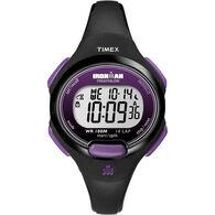 Timex IRONMAN® Traditional 10-Lap Mid-Size, Purple/Black