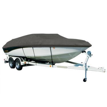 Exact Fit Sharkskin Boat Cover For Sea Ray 190 Sundeck W/Standard Swim Platform