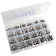 Stainless Steel Fastener Kit, 1120 pieces