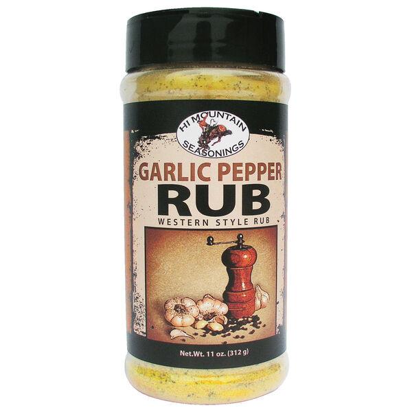 Hi Mountain Garlic Pepper Rub