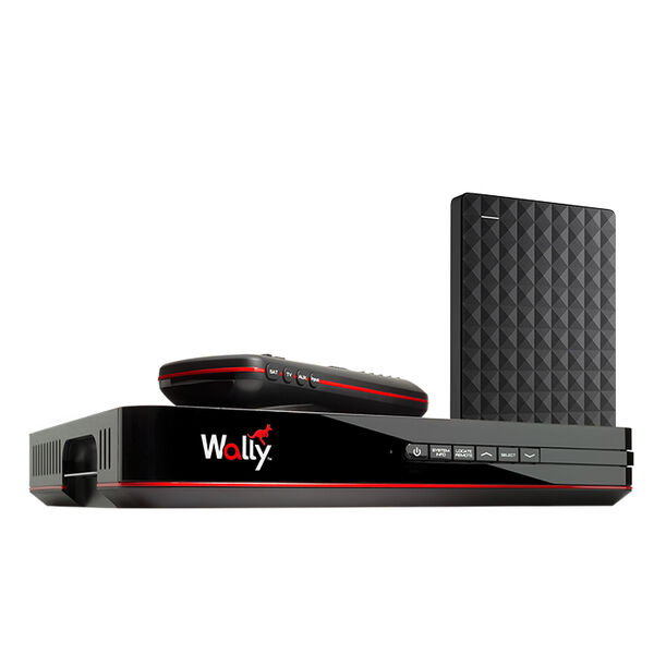 Wally DISH Receiver with DVR Upgrade Expansion Bundle