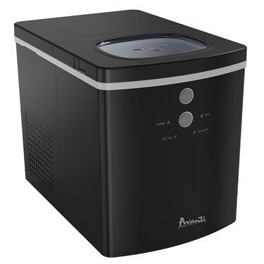 Avanti Portable Countertop Ice Maker, Black