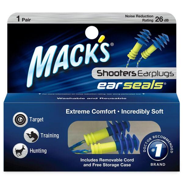 Mack's Shooters Ear Seals Ear Plugs, 1-Pack
