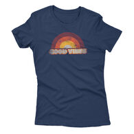 Points North Women's Good Vibes Short-Sleeve Tee