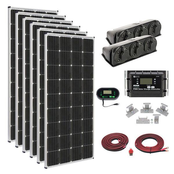Zamp Solar 1020-Watt Deluxe Roof Mount Kit