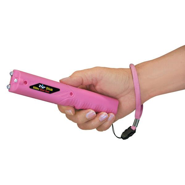 Personal Security Products Zap Stick Flashlight Stun Gun, Pink